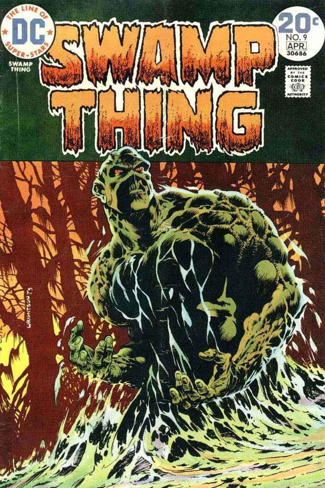 Photo - Swamp Thing 9 [DC Comics]