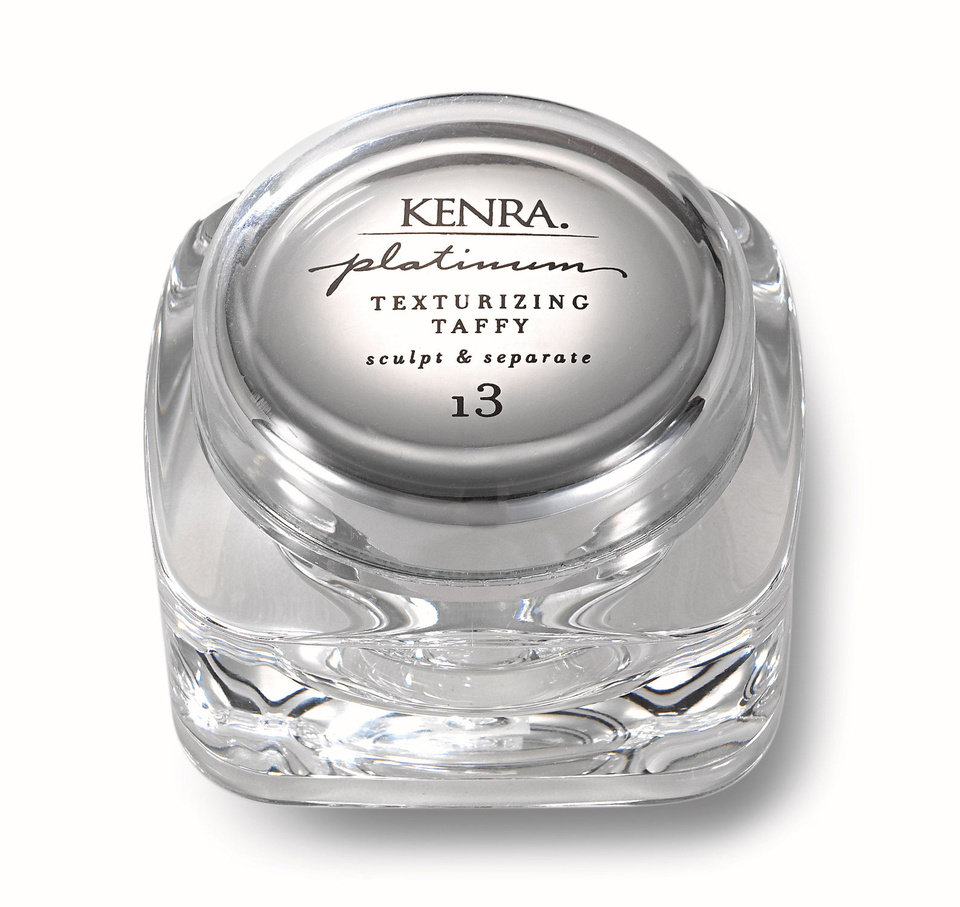 Photo - Kenra Platinum Texturizing Taffy is a super-sticky sculpting product perfect for super short hairstyles. Be warned, with a hold factor of 13, this stuff isn't messing around. And it smells great. Photo provided. Sold at Kenra.com.