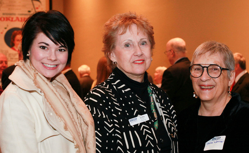Photo - Jennifer Upton, Irma Elliott, Laura Warriner. Photo provided