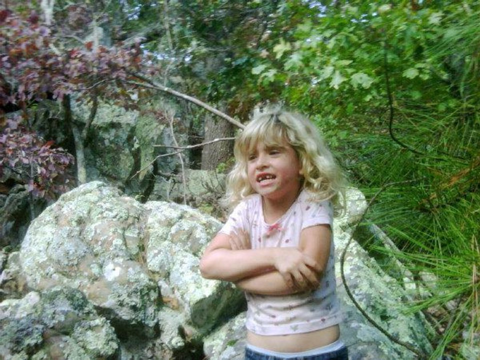 Photo - MISSING FAMILY: Madyson Jamison, 6, of Eufaula, along with her parents, was last seen Oct. 8, 2009. Authorities found her father's pickup in a rural area of Latimer County several days later, but not the family. Provided by Latimer County Sheriff's Office. ORG XMIT: KOD