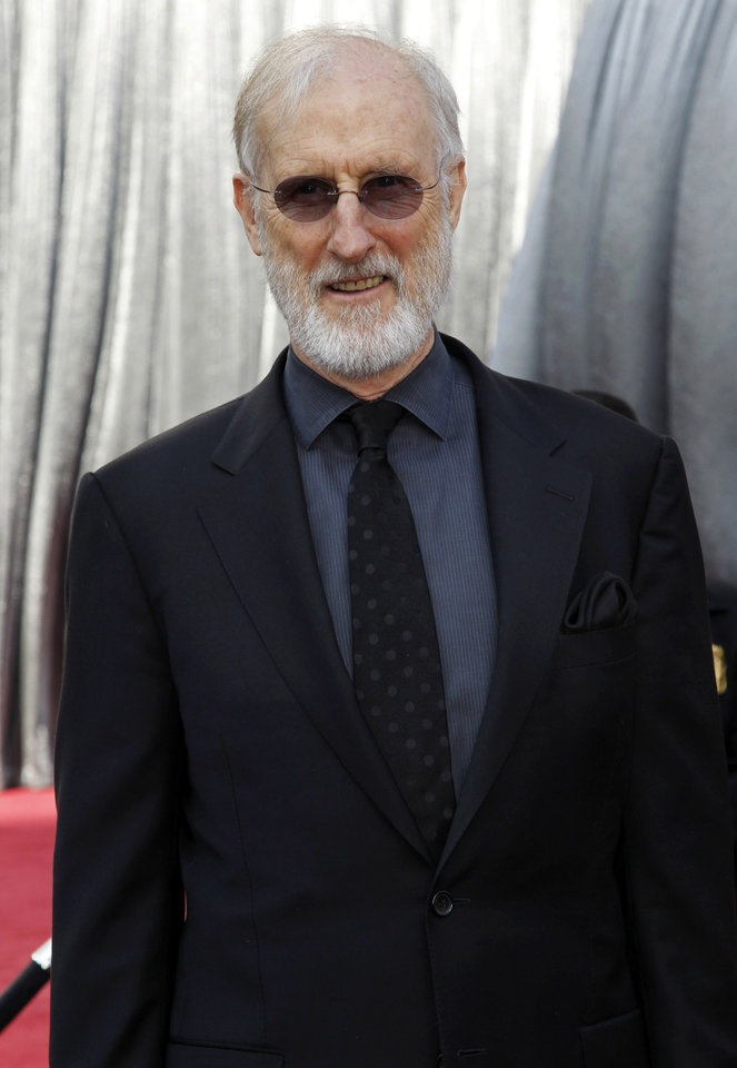 James Cromwell arrives before the 84th Academy Awards on Sunday, Feb. 26, 2012, in the Hollywood section of Los Angeles. (AP Photo/Matt Sayles) ORG XMIT: OSC105