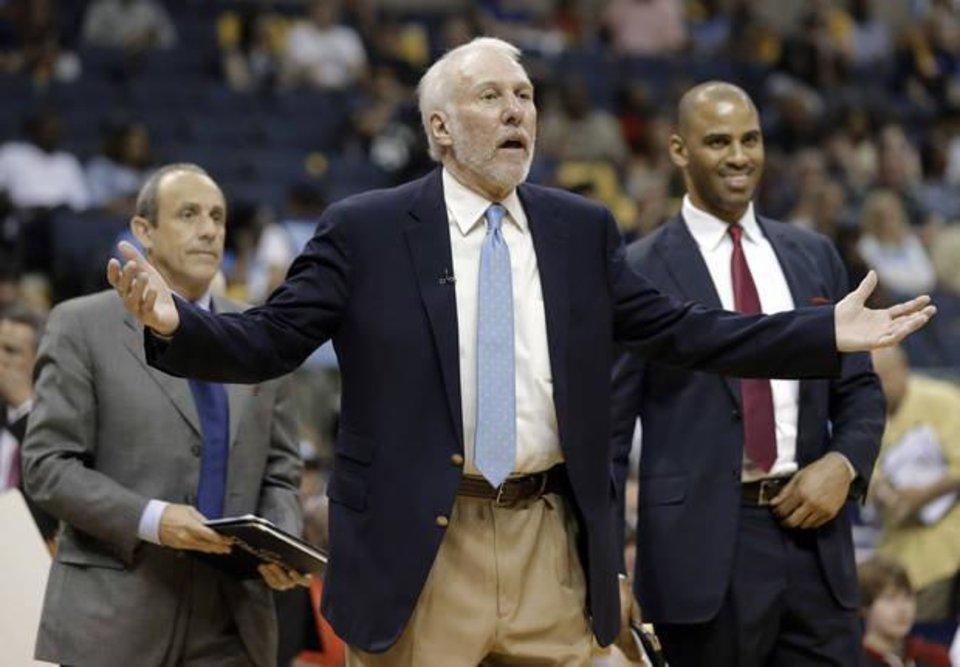 Photo - Gregg Popovich. (AP Photo)