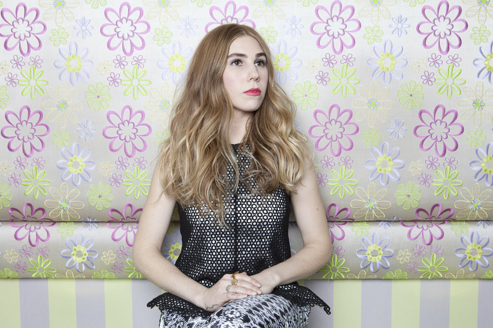 "This Jan. 8, 2013 photo shows American actress Zosia Mamet posing for a portrait to promote the second season of the HBO Comedy Series ""Girls"", in New York. (Photo by Amy Sussman/Invision/AP) ORG XMIT: NYET435"
