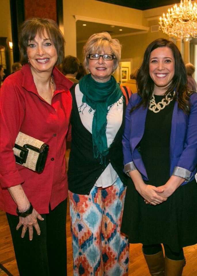3: Gale Bollinger, Susan Bergen, Claire Turmelle. Photo provided__