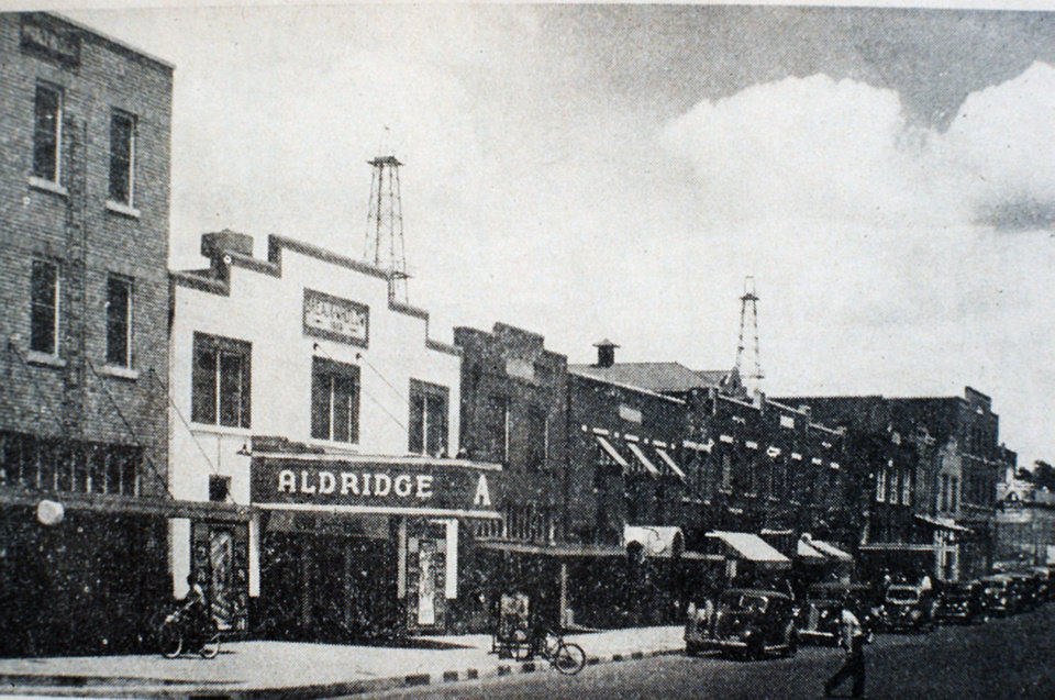 Photo - Deep Deuce, the 300 block of NE 2, can be seen in this undated photo. The Oklahoman Archives