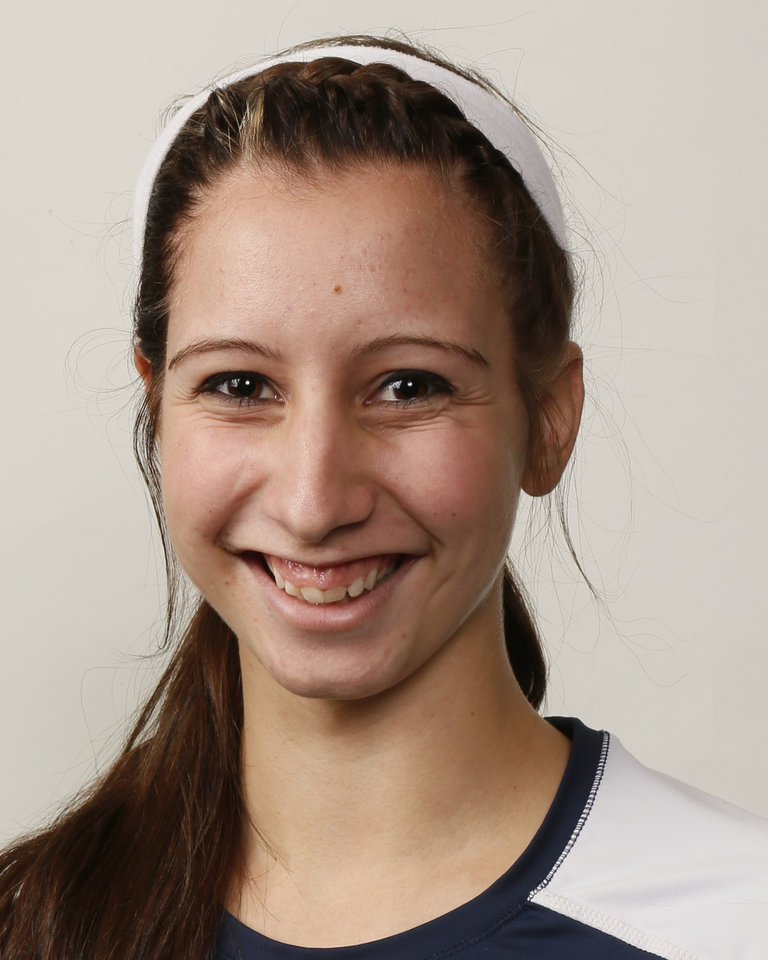 Photo - Amy Serowski, Southmoore volleyball player, poses for a mug shot during The Oklahoman's Fall High School Sports Photo Day in Oklahoma City, Wednesday, Aug. 15, 2012. Photo by Nate Billings, The Oklahoman