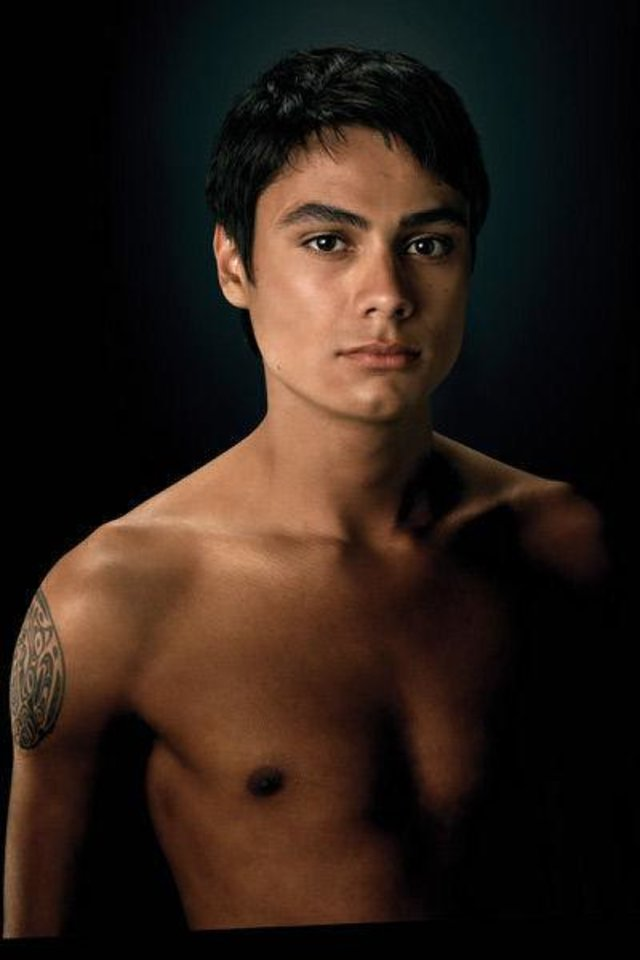 Photo - American Indian actor Kiowa Gordon plays Embry Call, a Quileute Indian who taps into his people's genetic ability to transform into werewolves, in the