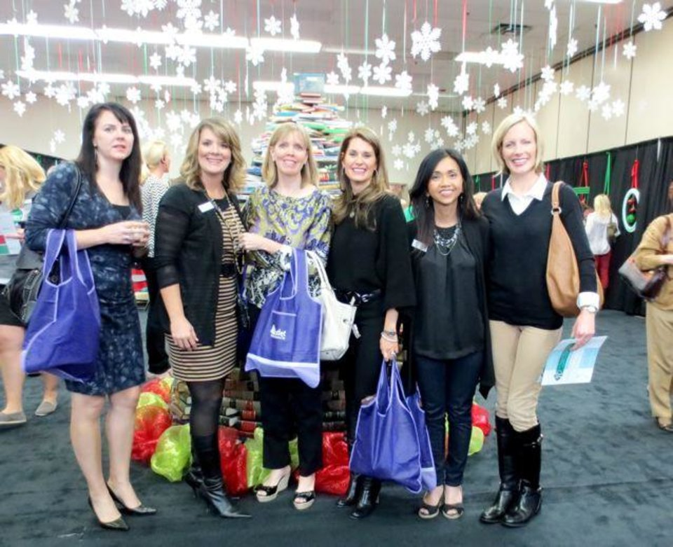 Board members are ready to shop! (Photo by Helen Ford Wallace).