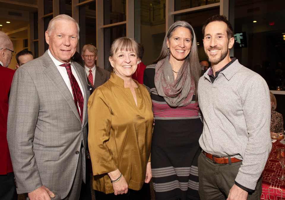 Photo - Steve and Susan Prescott, Kendra and Scott Plafker. PHOTO PROVIDED