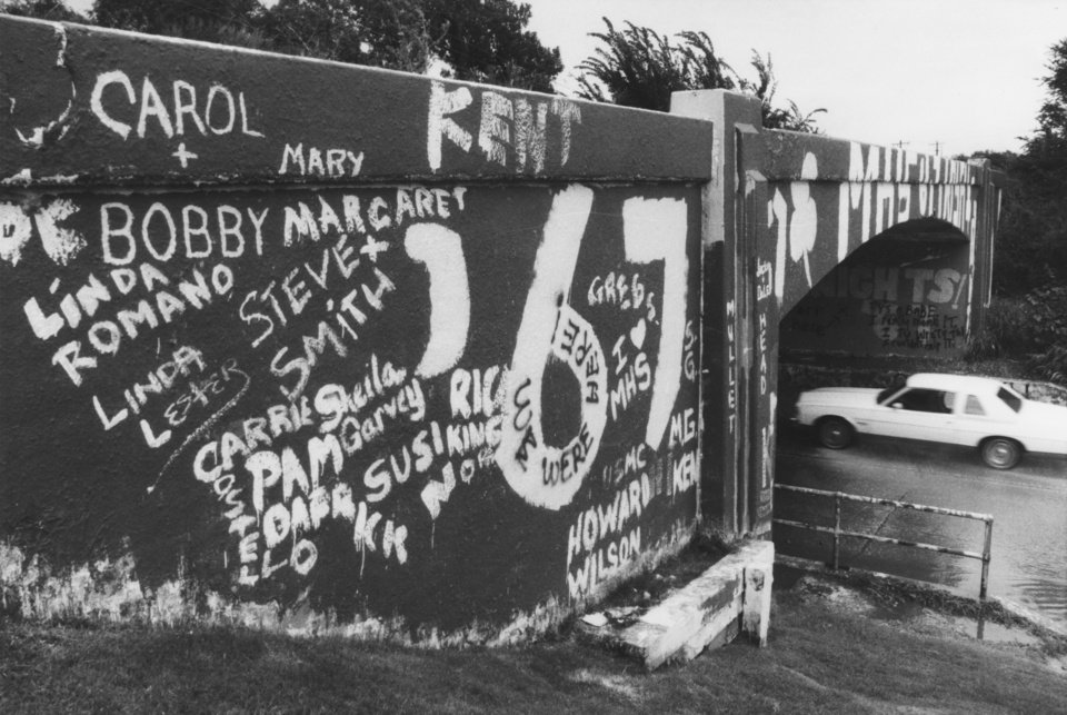 Photo -  The McGuinness High School class of '67 left its mark on the N Western