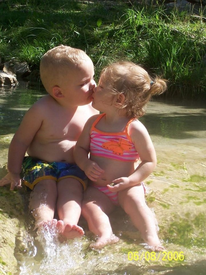 Jayden & Dani @ Turner Falls<br/><b>Community Photo By:</b> Sarah Burge<br/><b>Submitted By:</b> Sarah, Midwest City