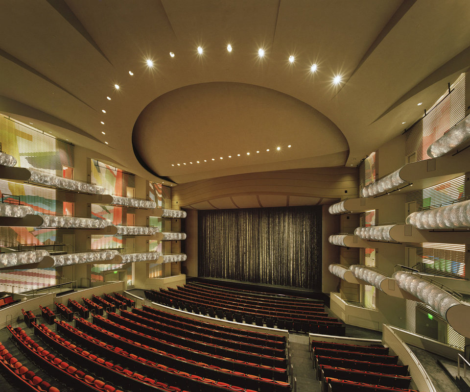 Photo - A look inside one of the performance halls inside the Kaufmann Performing Arts Center in Kansas City.  Timothy Hursley