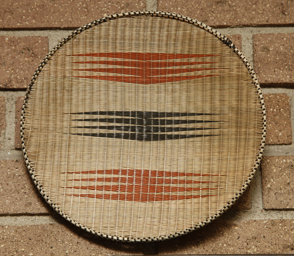 Bowl made in Rwanda. <strong>DOUG HOKE - THE OKLAHOMAN</strong>
