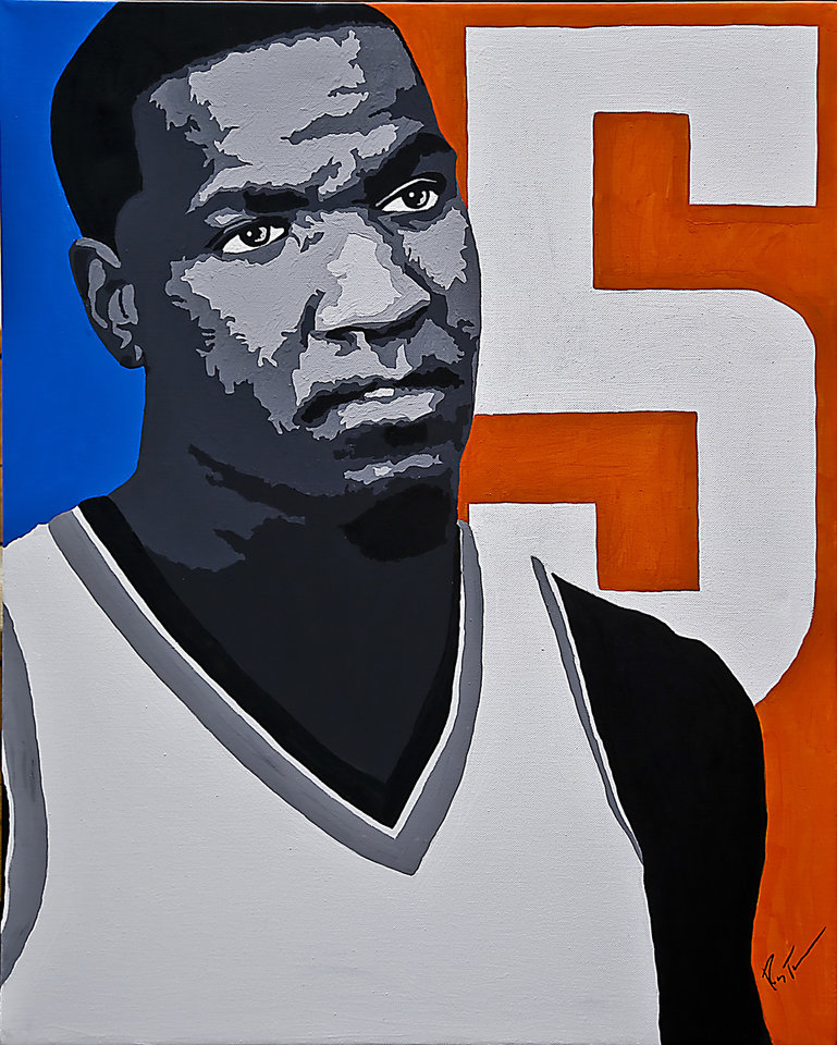 Thunder big man Kendrick Perkins is known for his scowl and attitude, but he�s also a smart and savvy NBA veteran.Art by Ray Tennyson photo by chris landsberger