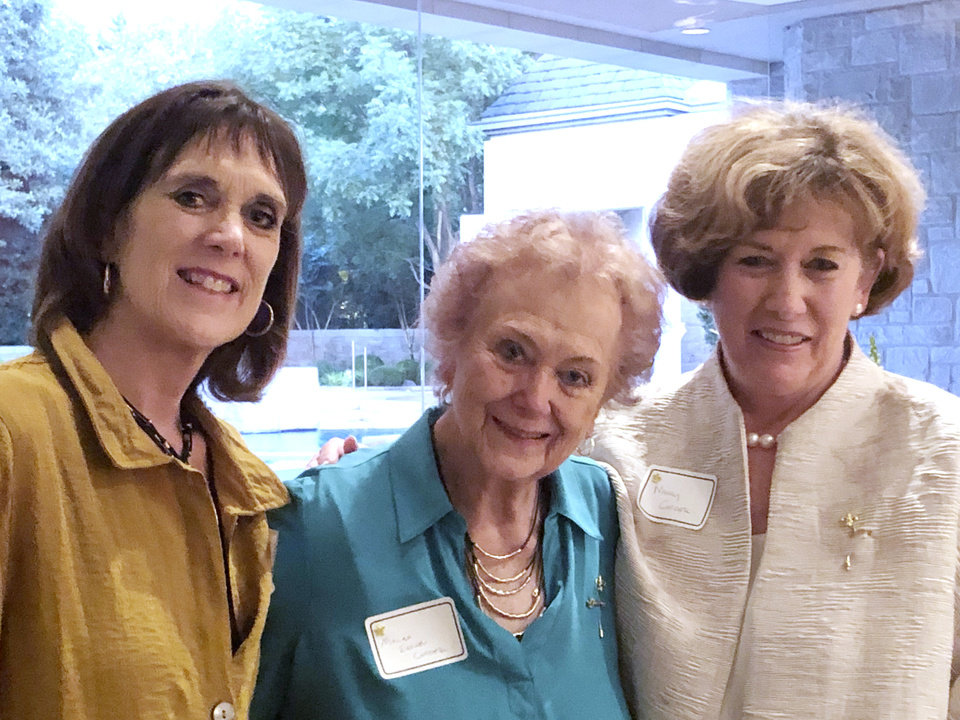 Photo - Ann Ballew, Melba Cordell, Nancy Cordell. PROVIDED PHOTO