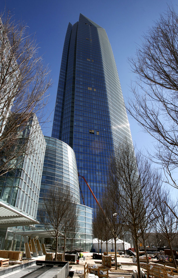 This is the Devon tower in Oklahoma City, OK, Friday, March 9, 2012. By Paul Hellstern, The Oklahoman Oklahoma City, OK, Friday, March. 9, 2012. By Paul Hellstern, The Oklahoman