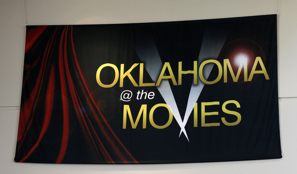 Visitors to the Oklahoma History Center's movies' exhibit can see a glimpse of 73 movies filmed in the state. PHOTO BY DOUG HOKE, THE OKLAHOMAN. <strong>DOUG HOKE</strong>