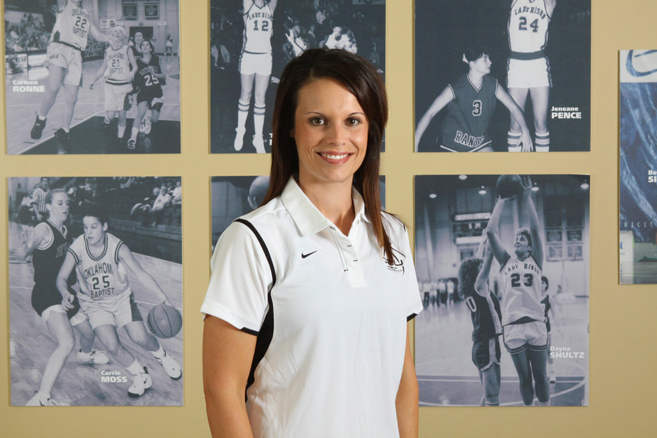 Oklahoma Baptist University has named former OBU player Casi Cox-Bays as its interim women's basketball coach, replacing John McCollough, who joins the Portland Trail Blazers as an advance scout.