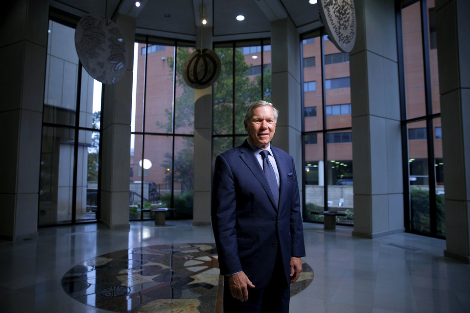 Photo -  Dr. Stephen Prescott at Oklahoma Medical Research Foundation. [PHOTO BY BRYAN TERRY, THE OKLAHOMAN]