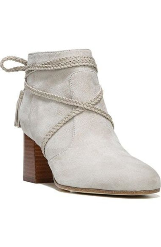 "Photo - Via Spiga ""Maddox"" block heel bootie, available at Betsy King, A Shoe Boutique. [Photo Provided]"