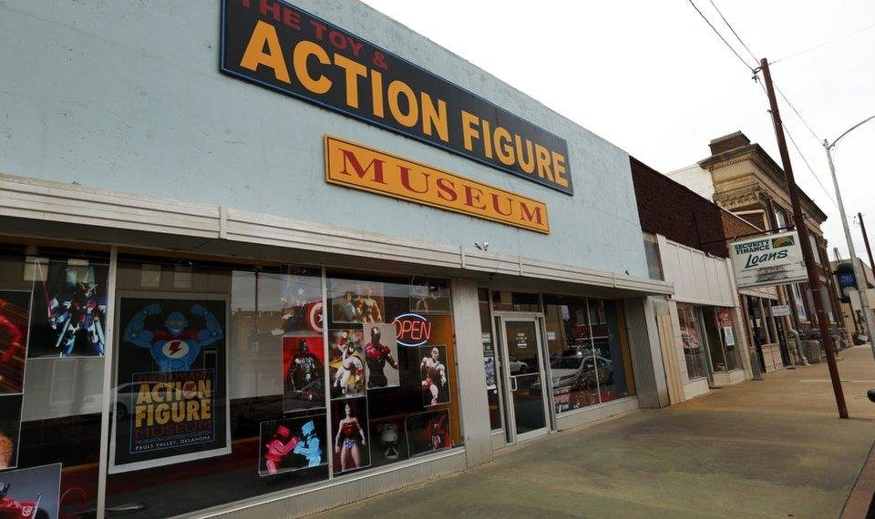 Photo - Toy and Action Figure Museum is seen on Tuesday, Jan. 3, 2017 in Pauls Valley, Okla. [The Oklahoman Archives]