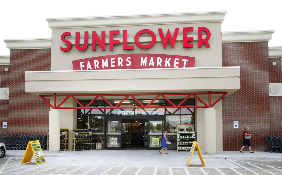 This is the new Sunflower Farmers Market grocery store in Oklahoma City, OK, Tuesday, Aug. 30, 2011. By Paul Hellstern, The Oklahoman