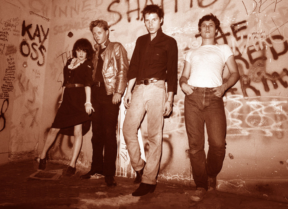 Exene Cervenka, left, with the Los Angeles punk band X, circa 1981. PHOTO PROVIDED <strong></strong>