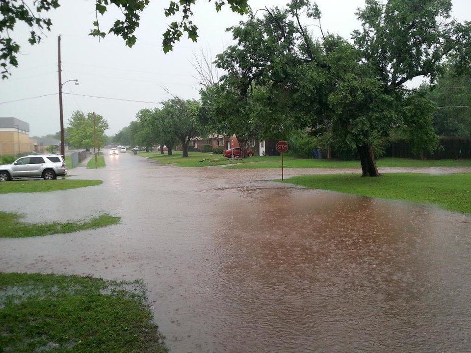 Photo - Flooding in The Village -- Photo via Rae @anchoredwaves on Twitter