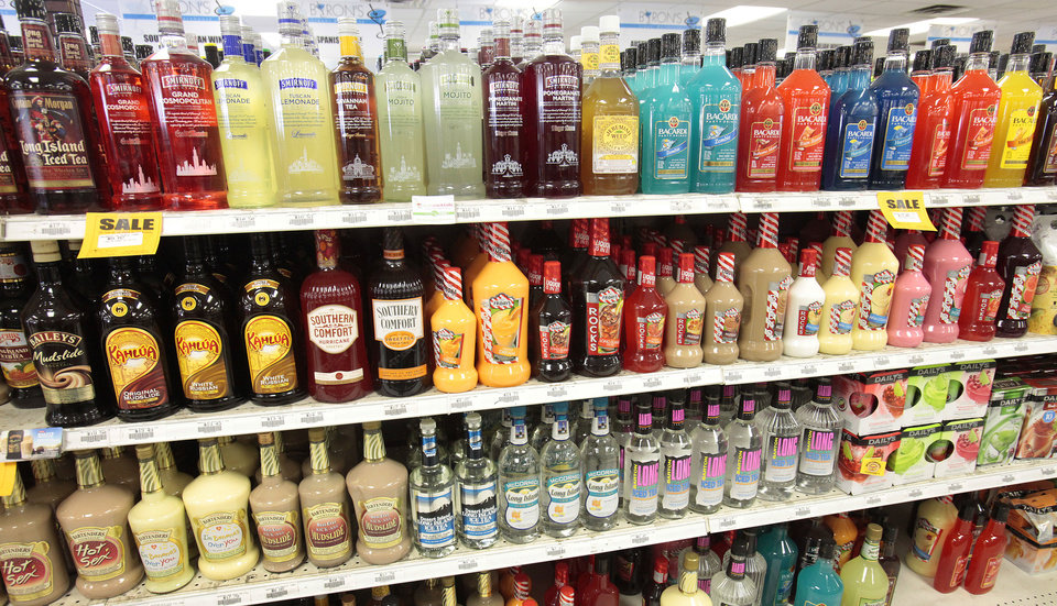 Liquor stores have been challenging a group�s efforts to get state laws changed to allow grocery stores to sell wine. Photo by David McDaniel, The Oklahoman Archives