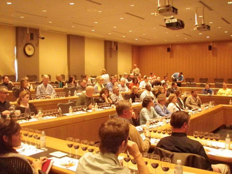 Photo -  Tasting seminars are an integral part of the Wine Forum of Oklahoma. Photo provided    -  PROVIDED