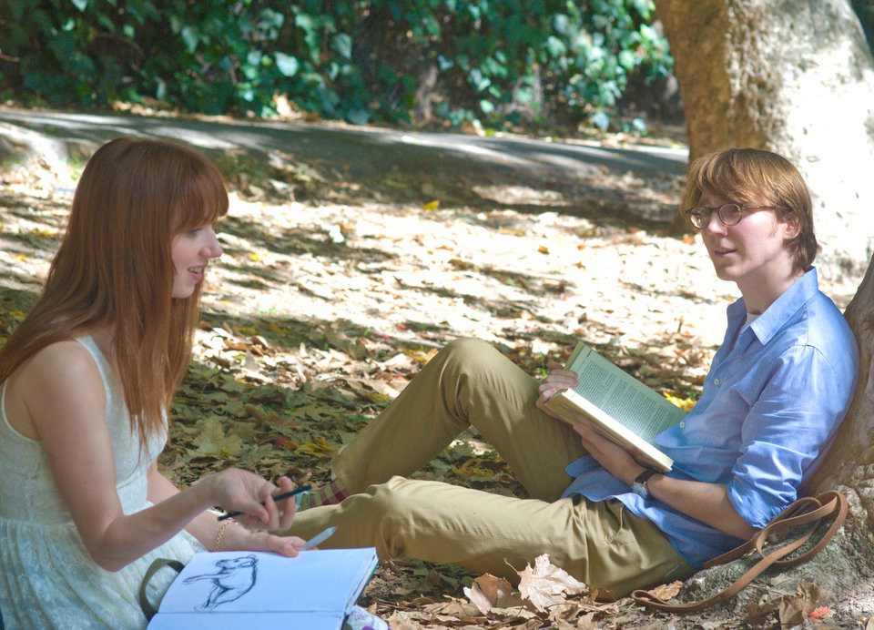 "Zoe Kazan and Paul Dano co-star in ""Ruby Sparks."" Fox Searchlight Pictures photo <strong>Merrick Morton</strong>"