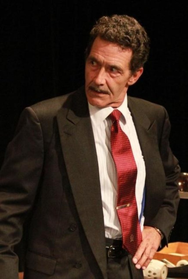 Photo -  Ben Hall will star as Sam Spade in Carpenter Square's live-stream production of