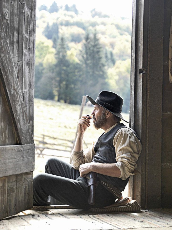 "Kevin Costner stars as Devil Anse Hatfield in the miniseries ""Hatfields & McCoys"" HISTORY PHOTO <strong>Kevin Lynch</strong>"