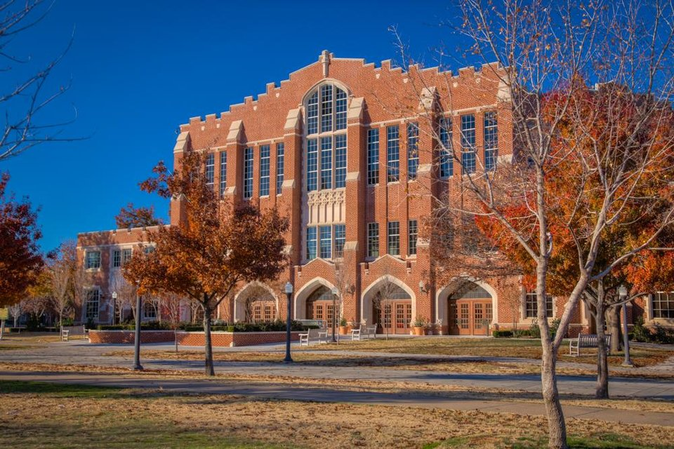 Photo -  The University of Oklahoma and Bockus Payne Associates Architects received a Citation of Merit for rehabilitation of McCasland Field House from the State Historic Preservation Office of the Oklahoma Historical Society.  PHOTO PROVIDED BY BOCKUS PAYNE ASSOCIATES ARCHITECTS
