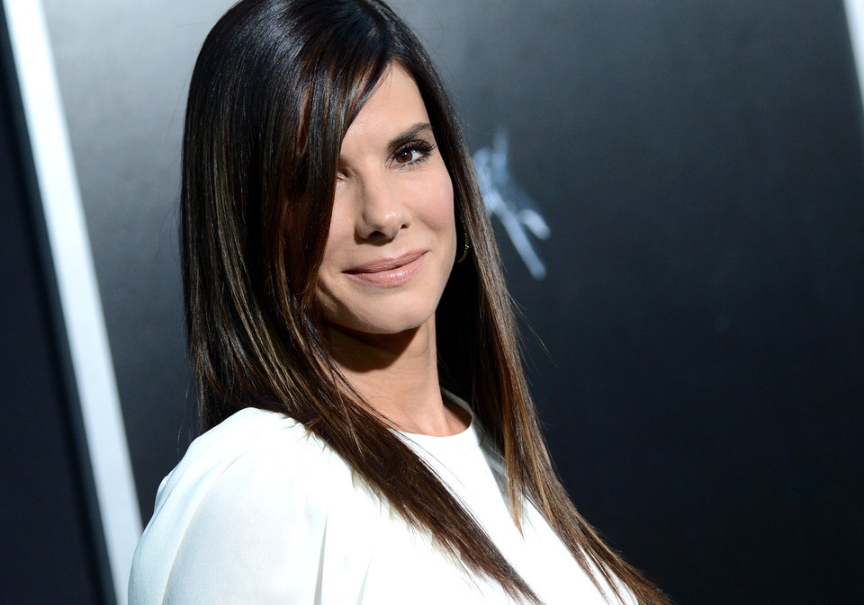 "Photo - Actress Sandra Bullock attends the premiere of ""Gravity"" at the AMC Lincoln Square Theaters on Tuesday, Oct. 1, 2013, in New York. (Photo by Evan Agostini/Invision/AP) ORG XMIT: NYEA132"