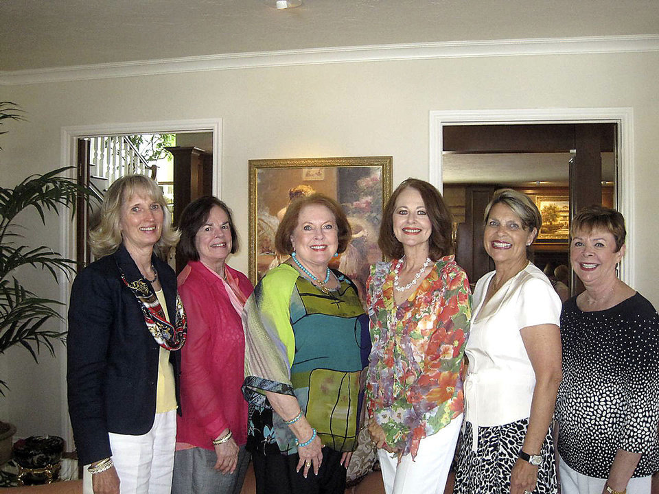 Anne Gray, Joyce Stewart, Jean Burke, Kaye Adams, Linda Barnett and Carolyn Howell. PHOTO PROVIDED