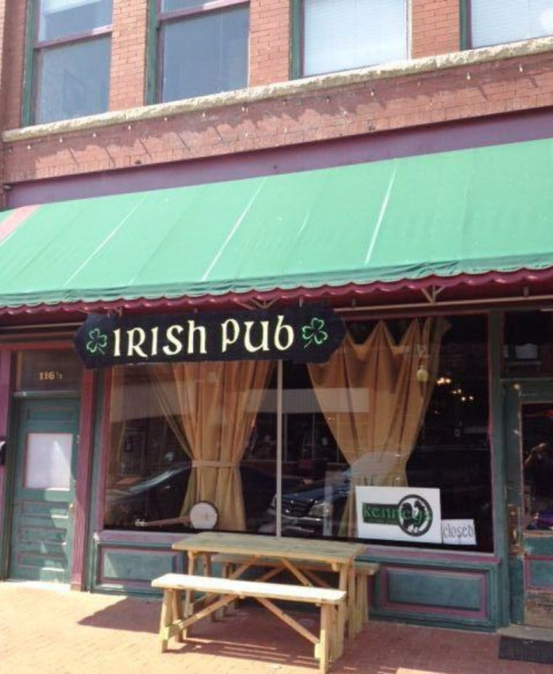 Some think Kenney\'s Irish Pub in Guthrie may be haunted by the ghost of