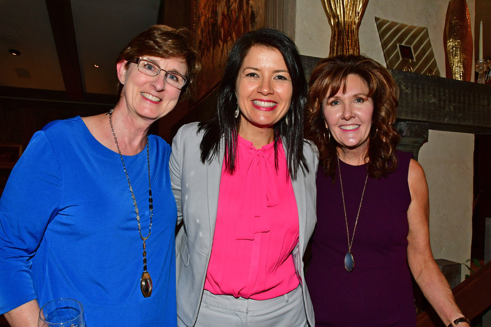 Photo - Sarah Taylor, Amber Sharples, Cindi Schatzman. PHOTO PROVIDED