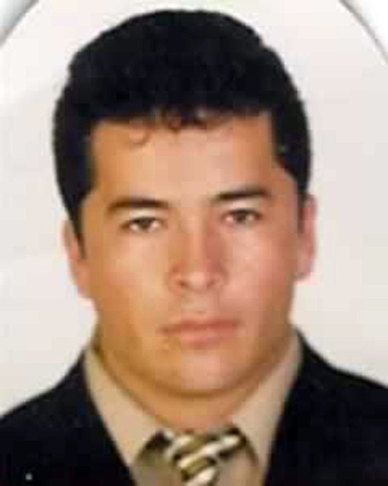 FILE - This undated file photo, downloaded from the Mexico's Attorney General's Office most wanted criminals webpage on Nov. 2, 2010, shows alleged Zeta drug cartel leader and founder Heriberto Lazcano Lazcano in an undisclosed location. The Mexican navy says on Monday, Oct. 8, 2012, Lazcano has apparently been killed in a firefight with marines in the Mexican northern border state of Coahuila. (AP Photo/Mexico's Attorney General's Office, file)