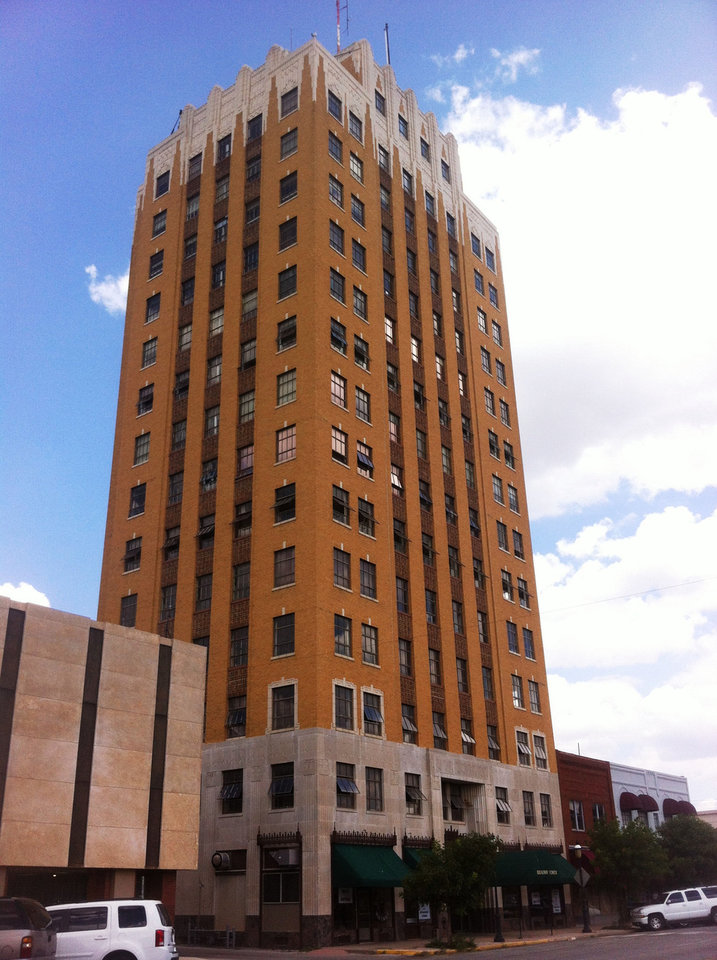 The historic Broadway Tower was bought last year by investors who plan to turn it into a boutique hotel. <strong>Richard Mize - The Oklahoman</strong>