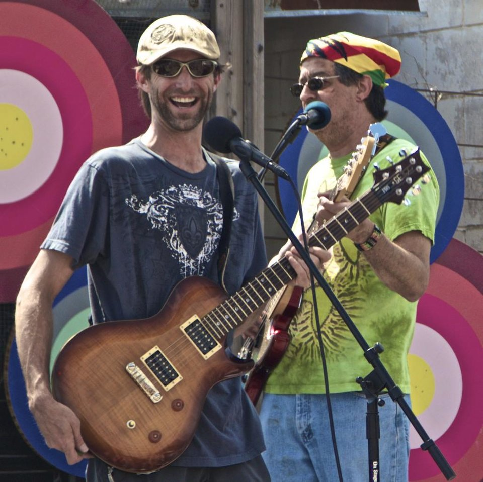 Photo -       Good Times Happening on the Dreamers Concept's Stage - Photo by NewsOK contributor Dianna Wilson