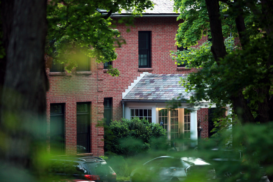 Photo -   The home of Mary Kennedy, ex-wife of Robert F. Kennedy Jr. in Mt. Kisco New York where she was found dead in the afternoon hours Wednesday, May 16 2012 (AP Photo/David Karp)