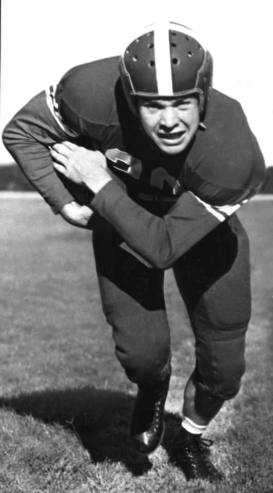 "Photo of University of Oklahoma running back Joe ""Junior"" Golding in 1941. OKLAHOMAN ARCHIVE PHOTO"