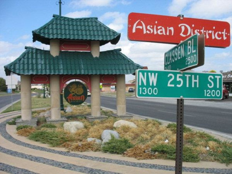 Photo - The Asian District in Oklahoma City has a strong Vietnamese presence after an influx of immigrants arrived in the area following the fall of Saigon in the spring of 1975.  Andrew Knittle