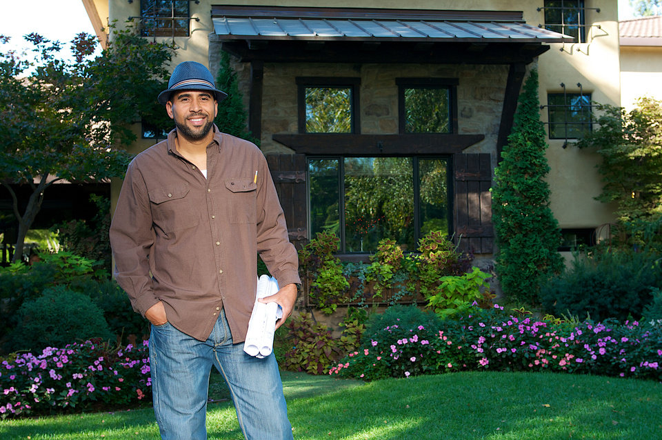 Ahmed Hassan of HGTV and DIY Network�s �Yard Crashers� will attend the Oklahoma City Home & Garden Show. Photo provided