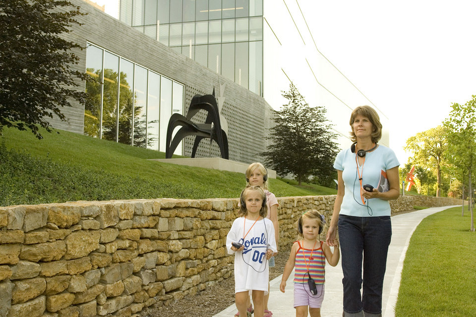 Photo - The Nelson-Atkins Museum is perfect for all ages.   - PROVIDED