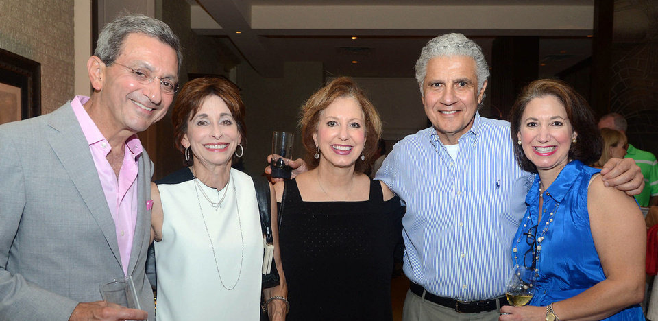 Photo - Gary and Sue Homsey, Betty Kay Karim, Frank and Vicki Shadid. Photo by David Faytinger, for The Oklahoman