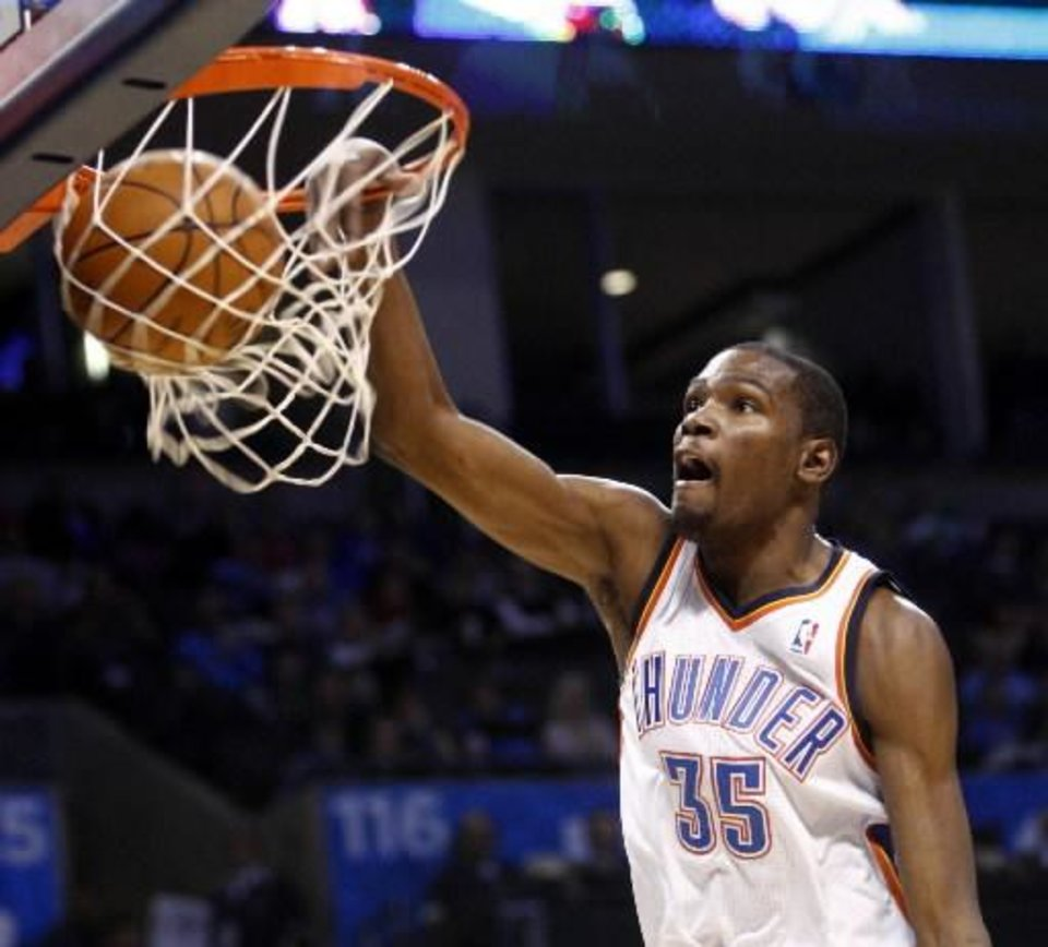 Thunder coach Scott Brooks is leery of the dunk contest team of Serge Ibaka and coach Kevin Durant.