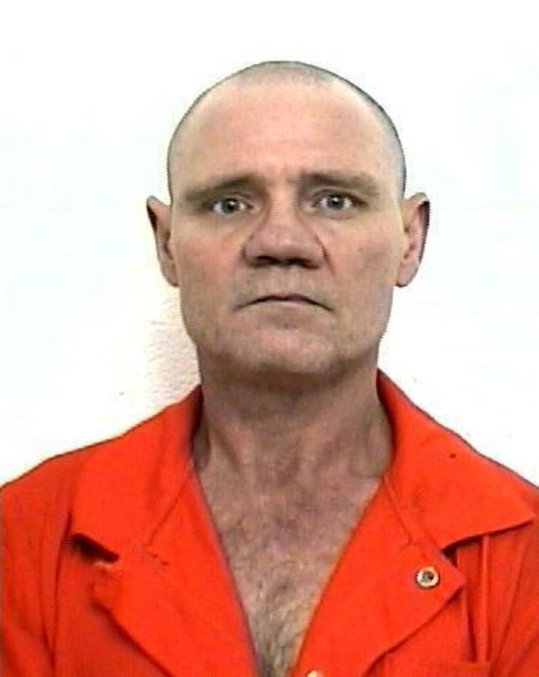 Photo - This is a 2005 mug shot of Billy Dean Riley, 53, who was shot early Friday morning by a homeowner in Lincoln County. Photo provided