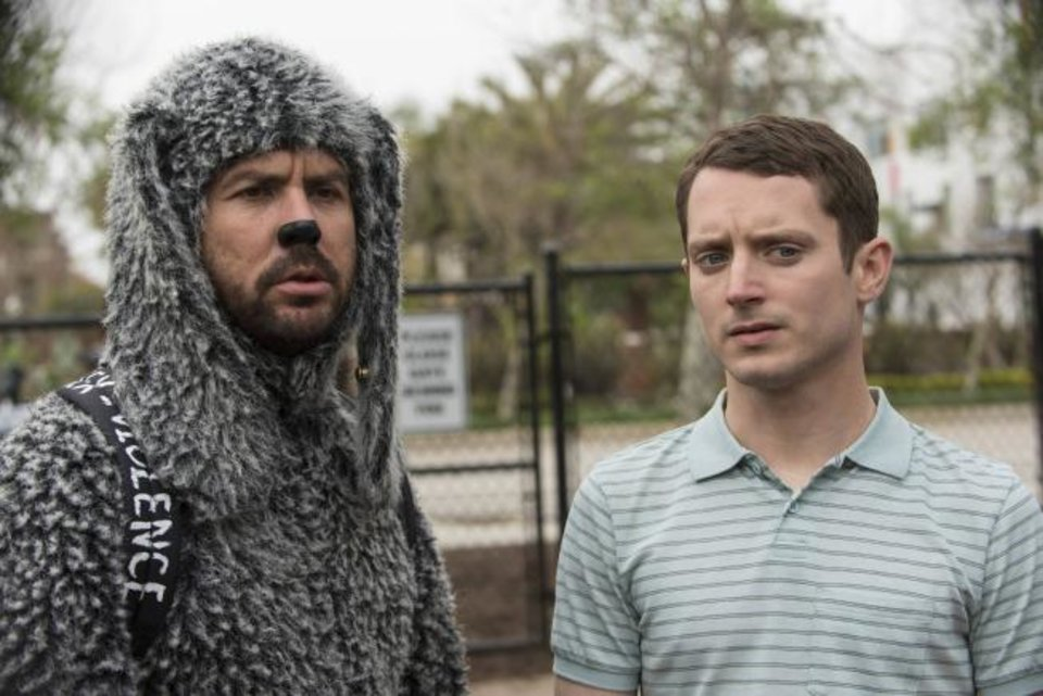 """WILFRED"": From left, Jason Gann as Wilfred, Elijah Wood as Ryan. CR: Prashant Gupta/FX"